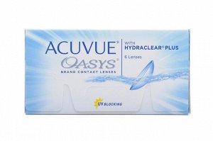 2-недельные контактные линзы ACUVUE OASYS (6 линз) минус 7