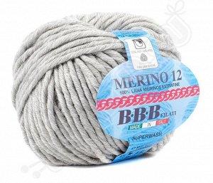 MERINO 12 (0302) светло-серый