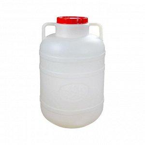 Канистра Канистра 40,0 л [БОЧКА]. Размеры изделия: Д / Ш / В 320 / 320 / 560 мм. Канистра изготовлена из прочного пищевого пластика и предназначена для транспортировки и хранения пищевых жидкостей. Из
