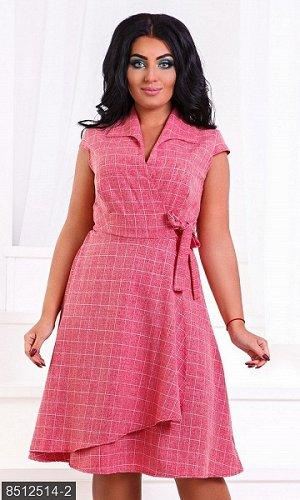 Платье женское лен-стрейч