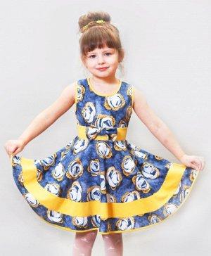Летнее платье для маленькой девочки РОМАШКИ