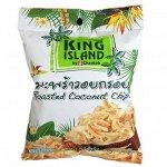 Кокосовые чипсы KING ISLAND, 40 гр 1/24