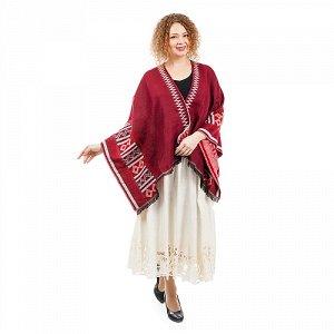 Пончо текстильное