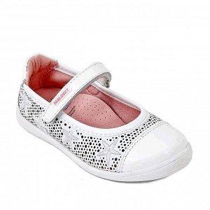 Pablosky Дышащие натуральные и очень мягкие туфельки,идеальны на сменку в школу 30р. Новые