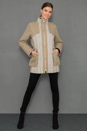 Куртка (парка) с трик. вставками