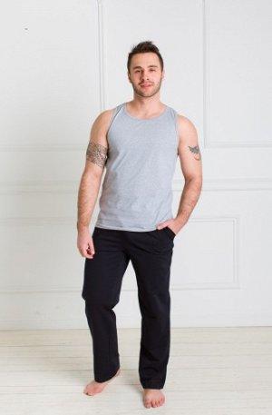 Мужские домашние брюки (темно серые)