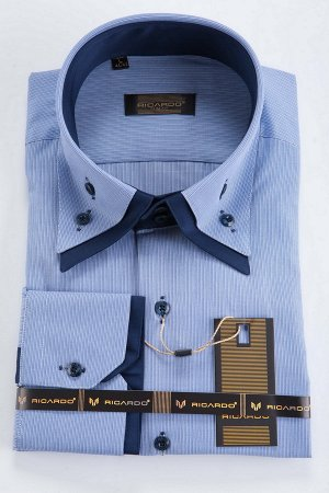 Рубашка длинный рукав Мод.1820814 арт.418517-05