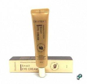 Крем для век с экстрактом улитки Whitening & Anti-Wrinkle Snail Eye Cream