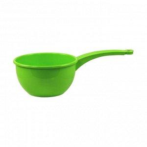 Ковш 2,0л Ковш 2,0л. Размеры изделия (ДхШхВ)335х180х100 мм. Ковш подойдет для зачерпывания и переливания жидкостей, пересыпания сыпучих продуктов, а также для использования в ванной и в саду. У данно