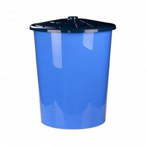 Бак 100,0л Бак 100,0л универсальный с крышкой СИНИЙ. Размеры изделия: Д / Ш / В 580 / 580 / 650 мм.Бак универсальный с крышкой, изготовлен из безопасного и пищевого пластика,не имеет токсичного запаха