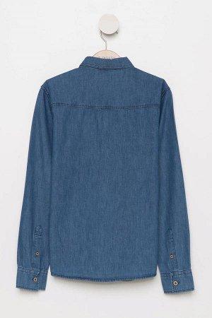 Рубашка джинсовая для мальчика