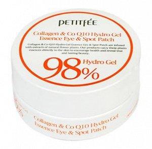 PETITFE Набор патчей д/век гидрогел. КОЛЛАГЕН/Q10 Collagen&CoQ10 Hydrogel Eye Patch, 60 шт