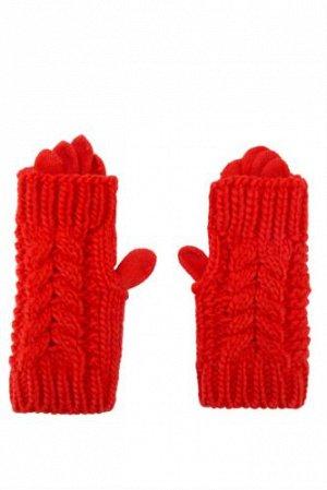 Перчатки Akrilik 100% тонкие перчатки, сверху митенки. Подростковый размер или на женскую руку до 17 размера