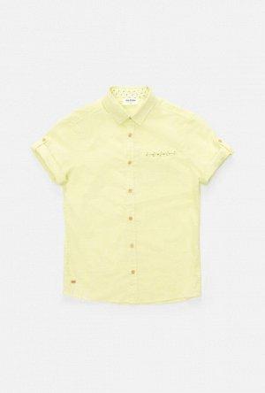Сорочка верхняя детская для мальчиков Dart желтый