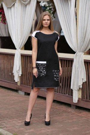 Платье Чёрный