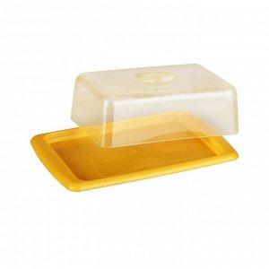 Маслёнка Масленка СМАК [ЭКОНОМ]. Размеры изделия: Д /Ш /В   160 /105 /50 мм.