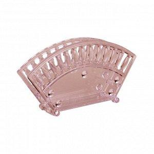 Салфетница Салфетница - это отличный аксессуар на каждый день, сочетающий в себе привлекательный дизайн и необходимую практичность. Выполнена из высококачественного пластика, устойчива, не деформирует