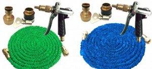 Садовый шланг для полива (набор) 150FT Расстояние распыления до 10 м Цвет: НА ВЫБОР