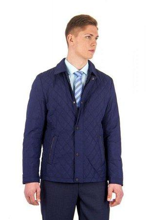 Куртка дем т.синяя