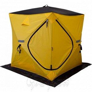 Палатка зимняя Куб EXTREME 1,5 х 1,5 V2.0 (широкий вход) (HS-ISТ-CE-1.5) Helios