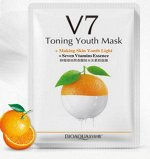 Витаминная маска «BIOAQUA» из серии V7 с экстрактом апельсина.30 гр