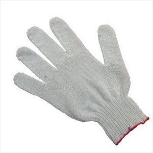 Перчатки рабочие Х/Б белые, 10 класс, 4 нити