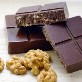 "Шоколад молочный ""грецкий орех и ваниль"""
