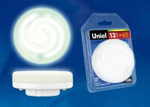 ESL-GX53-13/2700/GX53 Лампа энергосберегающая. Блистерная упаковка
