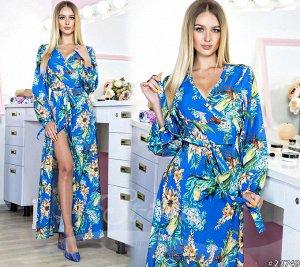 Платье Ткань: креп- софт. Длинна:145 см.