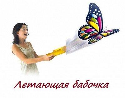 Товары для Дома и Гигиены — Летающая бабочка для открытки — Праздники
