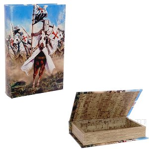 Шкатулка-книга, L16 W5 H24 см
