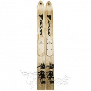 Лыжи дерево-пластик Охотник 155 см