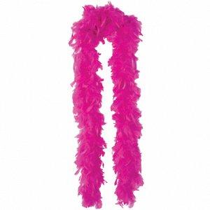 Боа розовое 180см/А