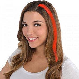 Волосы нарощенные оранжевые/А
