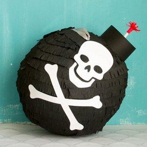 Пиньята Бомба пиратская
