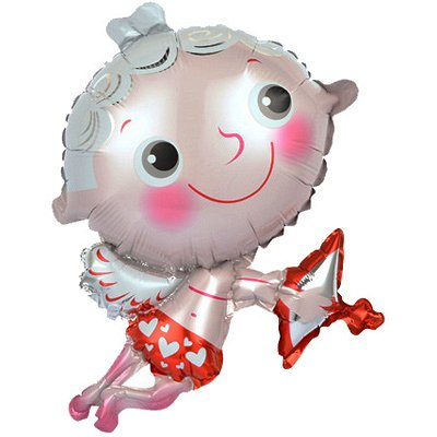 №155 =Территория праздника-организуем праздник сами — Воздушные шары из фольги5шт в уп(цена за пять шариков) — Воздушные шары, хлопушки и конфетти
