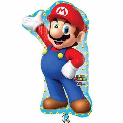 №156 =Территория праздника -организуем праздник сами.Шарики — Супер Марио — Праздники