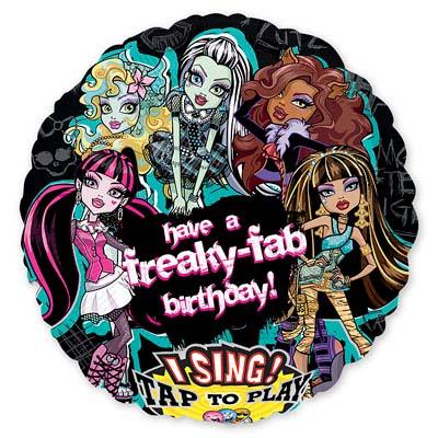 №156 =Территория праздника -организуем праздник сами.Шарики — Monster High — Праздники