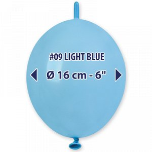 """Линколун 6""""/09 Пастель Light Blue"""