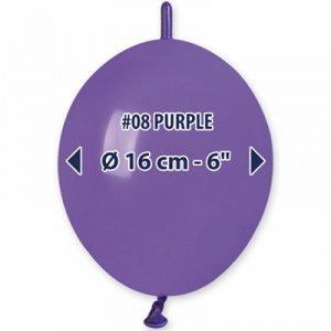 "Линколун 6""/08 Пастель Purple"