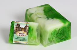 """Косметическое мыло  """"Зелёный чай и стебель бамбука"""".100 гр"""