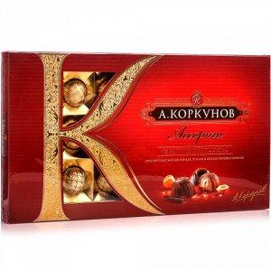 Коркунов Ассорти конфеты темный и молочный шоколад, 110 г