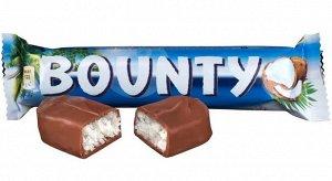 Шоколадный батончик Баунти 55г