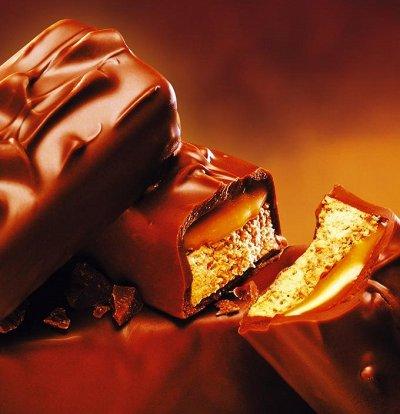 72 ☕ Яркая Феерия вкуса чая и чайных напитков 🍇 — Шоколадные батончики * Сникерс, Марс, Баунти, Твикс — Кондитерские изделия