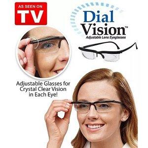 Очки с регулировкой линз Dial Vision -6 до +3