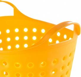 Корзина Корзина 4,1л SOFT СНЕЖНО БЕЛЫЙ. Литраж 4.1 л. Изделия выполнены из гигиеничного пищевого пластика, устойчивого к воздействию влаги и температуры, поэтому могут использоваться даже в бане, ванн