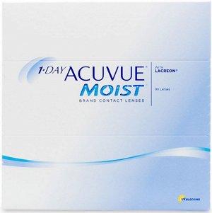 Однодневные контактные линзы 1-DAY ACUVUE MOIST (90 линз)