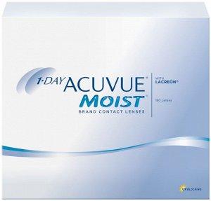 Однодневные контактные линзы 1-DAY ACUVUE MOIST (180 линз)