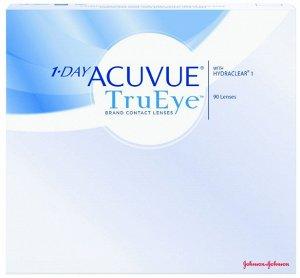 Однодневные контактные линзы 1-DAY ACUVUE TruEye (90 линз)