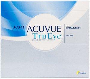 Однодневные контактные линзы 1-DAY ACUVUE TruEye (180 линз)